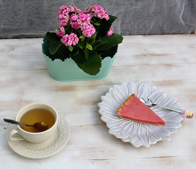 tarte de morango e iogurte