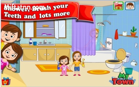 Game Edukasi Anak Android My Town Home MOD APK