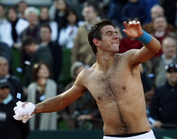 Image result for del potro shirtless