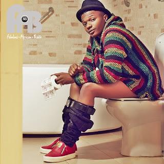 wizkid in the toilet