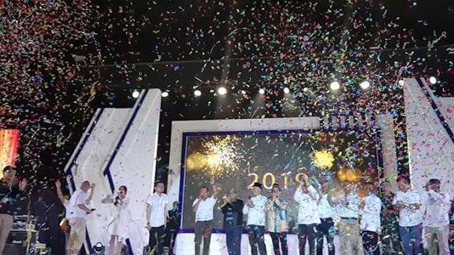 Malam Tahun Baru PTBA Adakan Hiburan dan Ceramah Agama