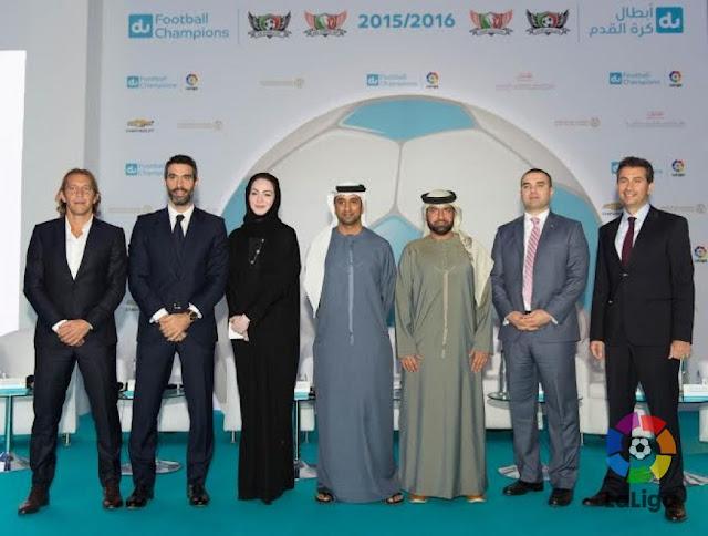 LaLiga impulsa su primer CAR para jóvenes futbolistas en Dubai