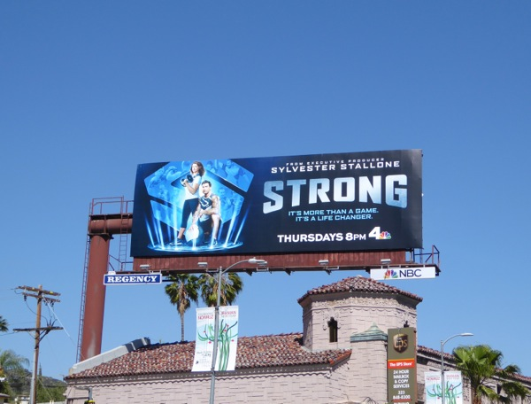 Strong series premiere billboard