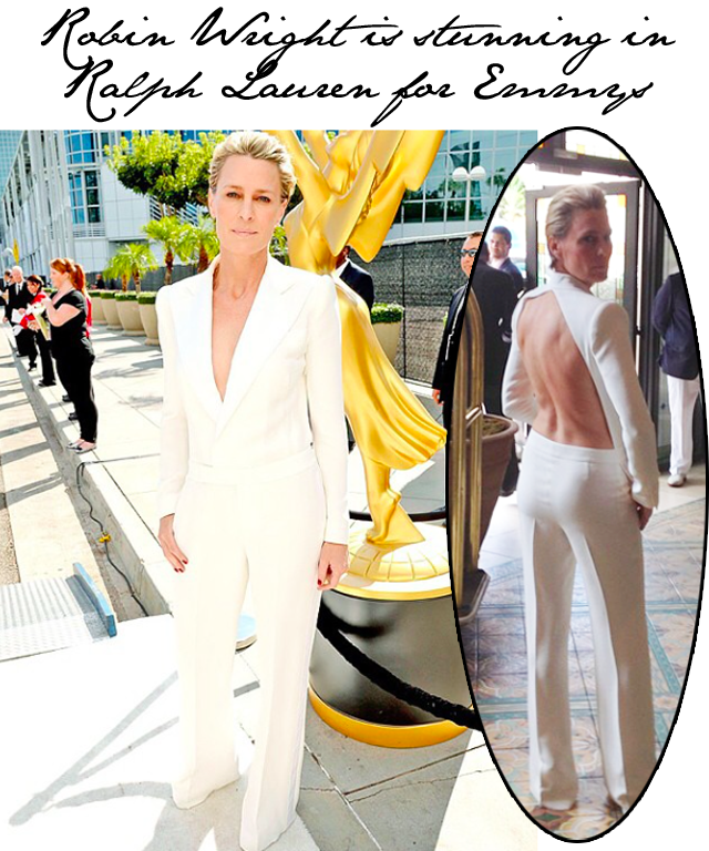 Robin Wright Emmy Ralph Lauren