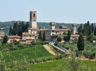 Abbey of Passignano near Tavarnelle in Chianti, Tuscany