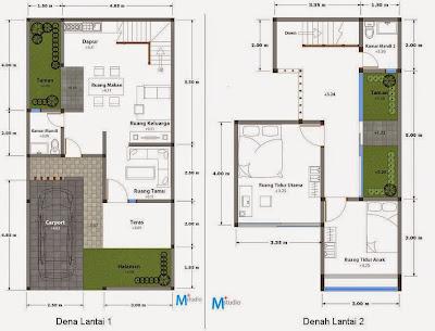meter persegi memiliki banyak keuntungan Desain Rumah Minimalis 2 Lantai Type 90 Luas Tanah 120m2 dan 150m2