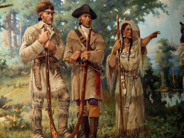 native americans meet lewis and clark