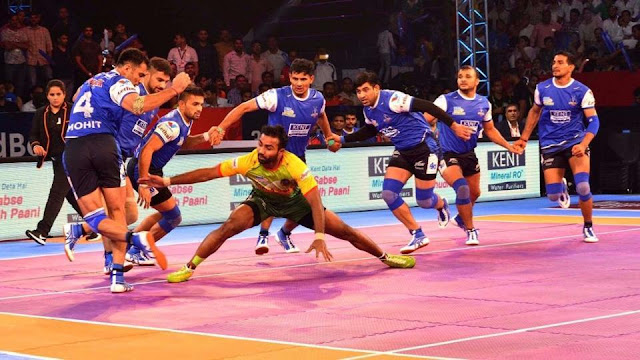Patna Pirates tie with Haryana Steelers