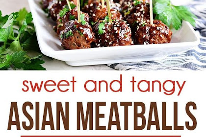 Sweet And Tangy Asian Meatballs