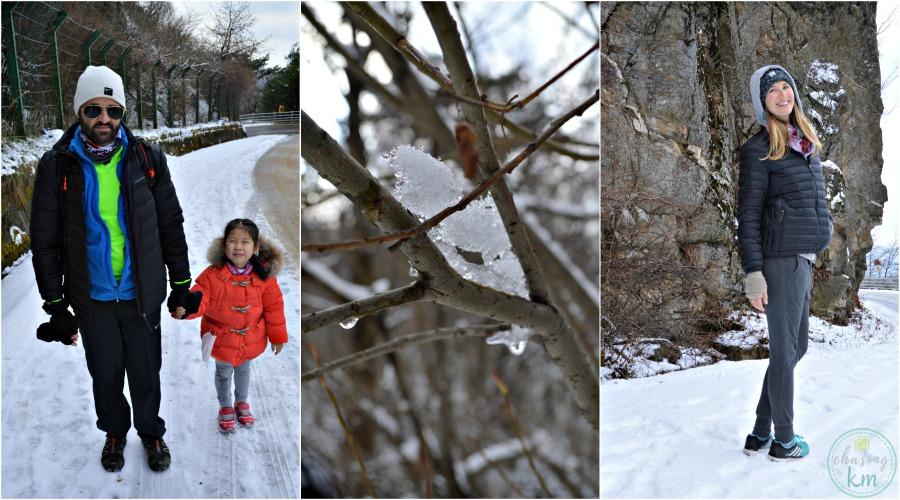 Jirisan National Park, winter, South Korea