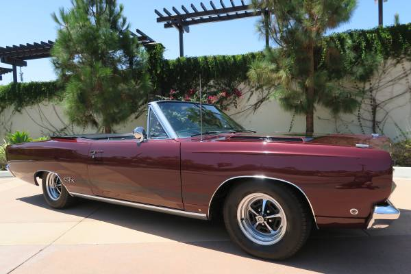 1968 Plymouth GTX 440 Convertible For Sale