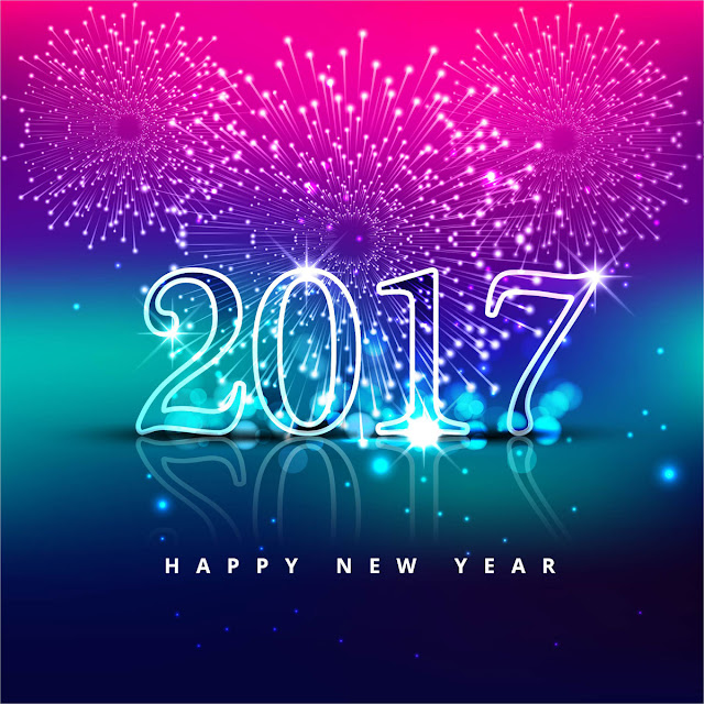 Happy New Year 2017 3D Wallpaper Download