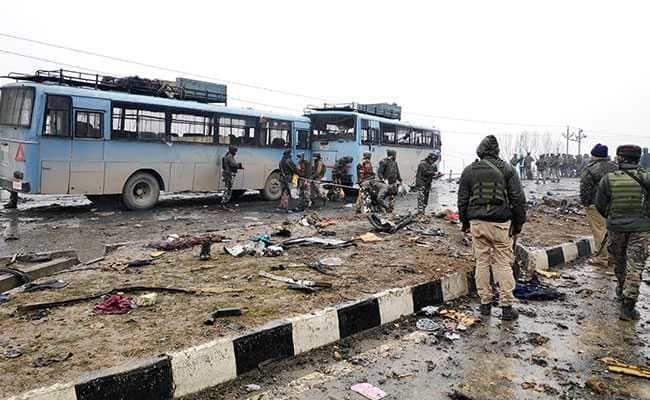 Pakistani militant attack on India in jammu kasmir 'pulgama'
