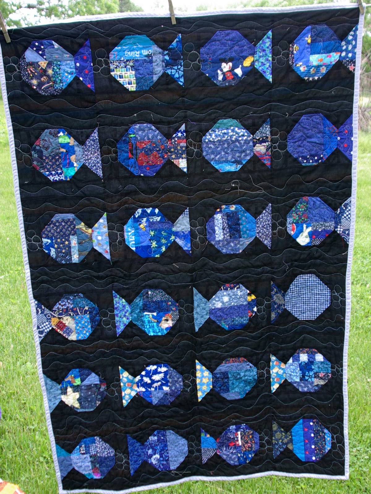 album tropical pin on photobucket quilt from fish