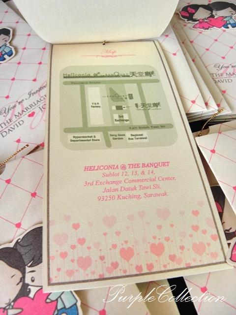 Cartoon Pocket Wedding Invitation Card, pocket, ivory gold card, ivory gold, wedding invitation card, cartoon card, cartoon, pocket card, pocket invitation card, wedding card, wedding, cartoon, pocket, joanne and david, joanne, david, handmade card, cartoon pocket wedding card
