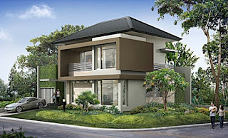 luxury 2-storey house design - Lampung interior house