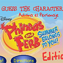 Phineas and Ferb Adivina el Personaje