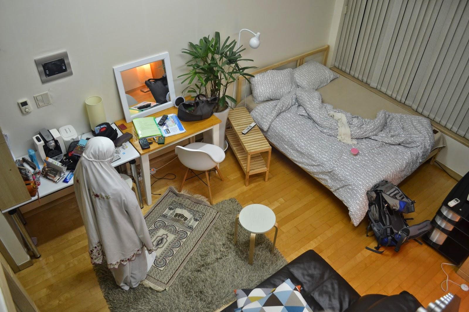 Ni Pandangan Dari Atas Tangga Bawah Tu Katil Tempat Tidur Mil Bilik Sepah Sikit Biasalah Ada Kanak Aktif