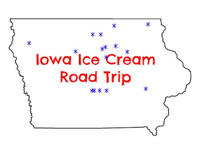 Celebrate National Ice Cream Month by going on an Iowa Ice Cream Road Trip.  Check out these 16 Iowa ice cream shops for your next road trip.
