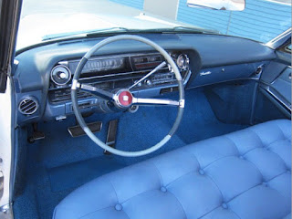 1963 Cadillac DeVille Convertible Dashboard
