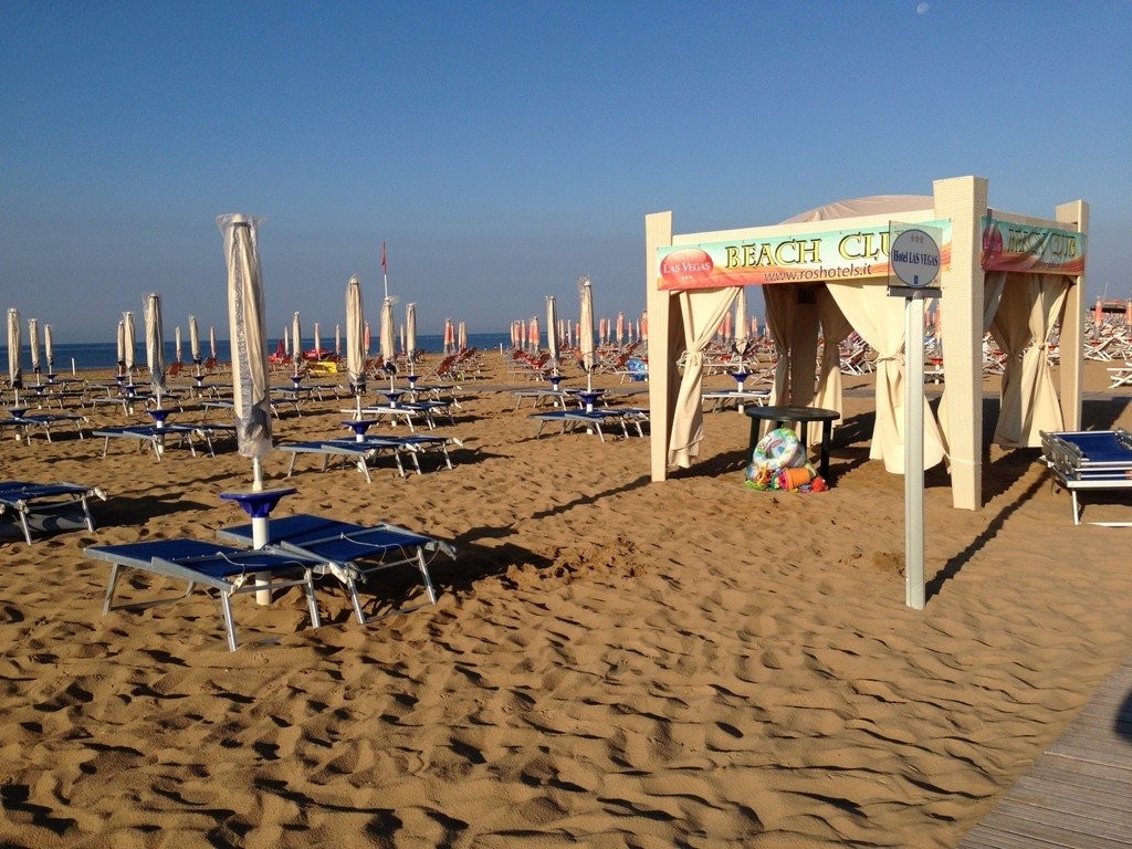 Hotel Las Vegas, Bibione | Italy - A Perfect Holiday Choice for Families - Private Hotel Beach