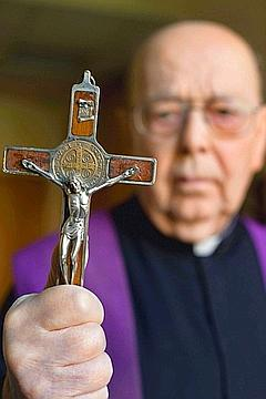Father Gabriele Amorth, the famous Italian exorcist