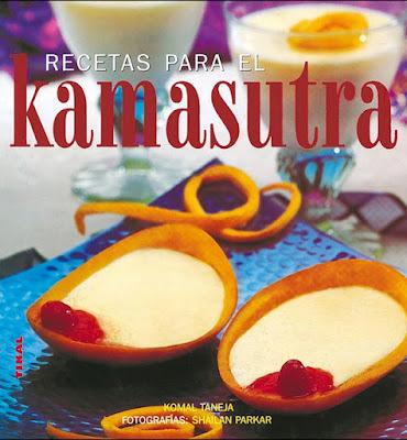 Portada libro Recetas para el Kamasutra