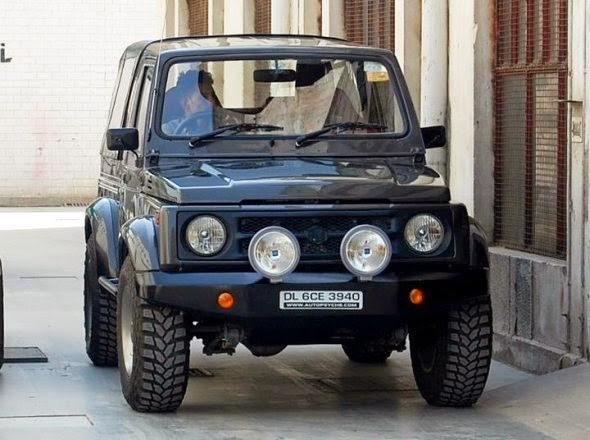Black Listed Riderz Modified Maruti Gypsy