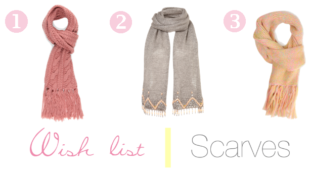 Wish list | Scarves
