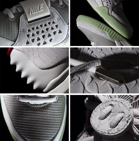 Kanye is lettin  everybody know his new Yeezy 2 s is comin ! The detail in  these kicks are so crazy 5de0711741