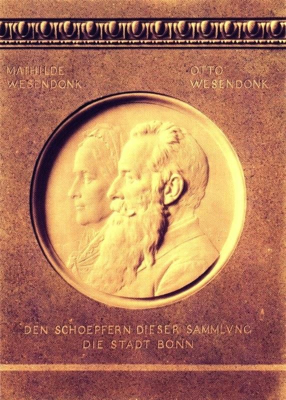 Albert Küppers: Medaillon für die Stifter der Sammlung. 1910