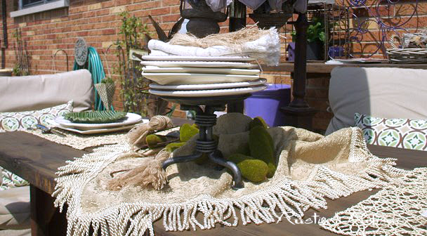Summer tablescape ideas