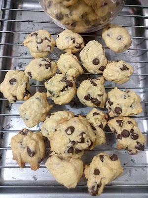 Resepi biskut cip coklat, biskut cip coklat, biskut, cara buat biskut cip coklat, bahan membuat biskut cip coklat