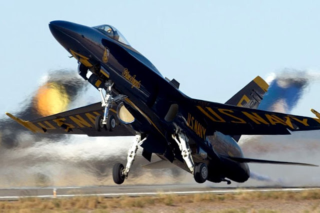Blue Angels emergency landing El Centro