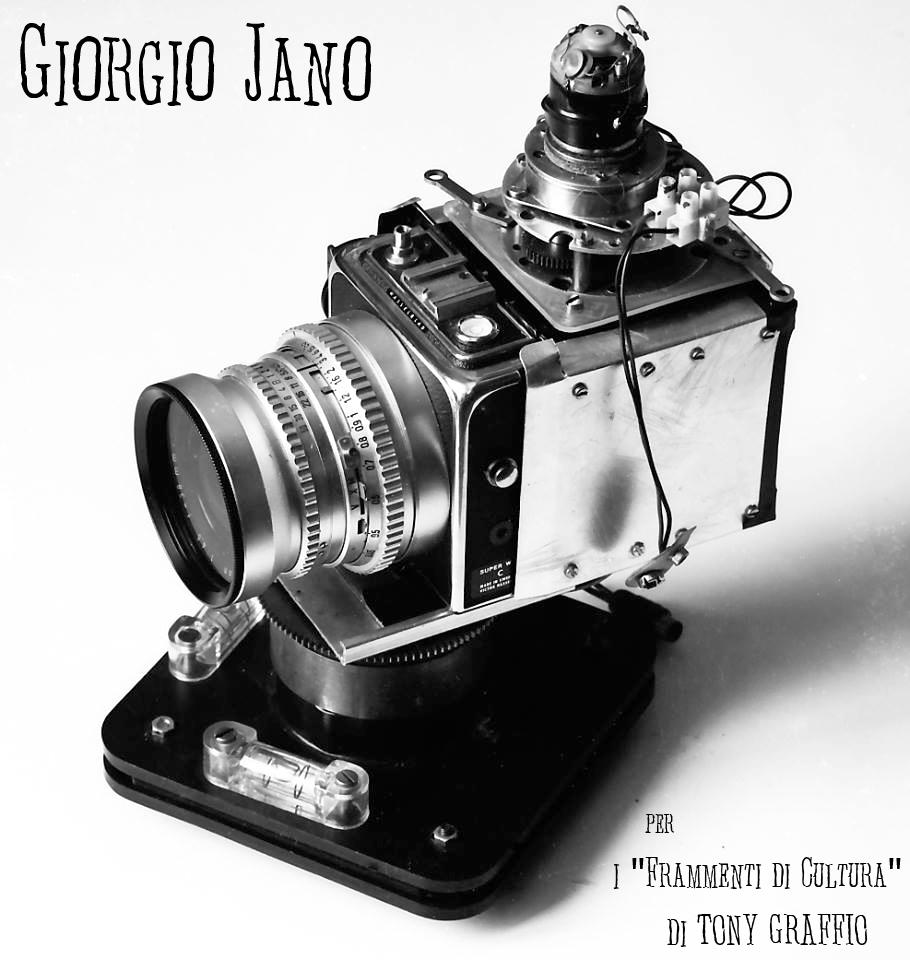 Progetto abortito di fotocamera panoramica con Hasselblad Super Wide - Progettista e costruttore Giorgio Jano