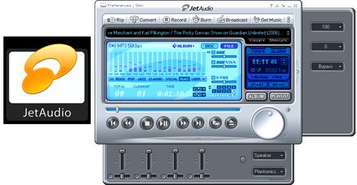 Media Player Jet Audio 8.1.3 Basic Δωρεάν Media Player