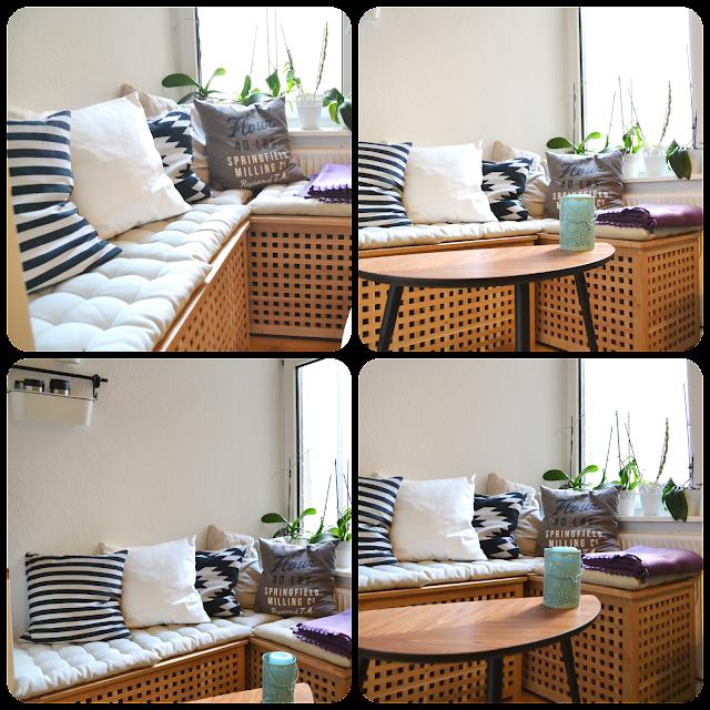 IKEA HOL, Truhe, Sitzbank, Kiste, Ikea, H&M Home, Lövbacken, Sitzecke, Inspiration, Interior