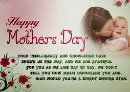 Messages for mothers day
