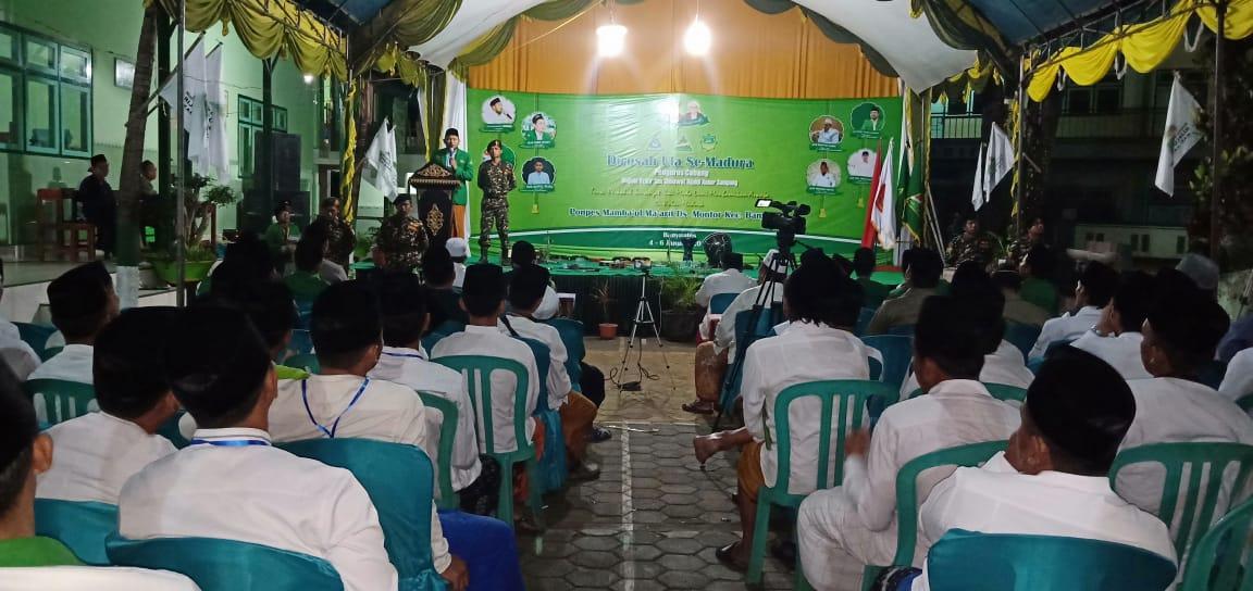 Bumikan ASWAJA di Pulau Madura, PC MDS Rijalul Ansor Sampang Gelar Dirosah Kader Ula.