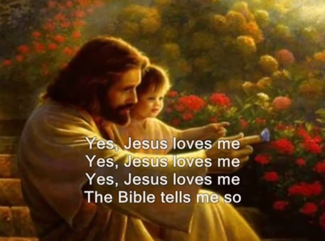 Yes Jesus Loves Me Bible Tells Me So