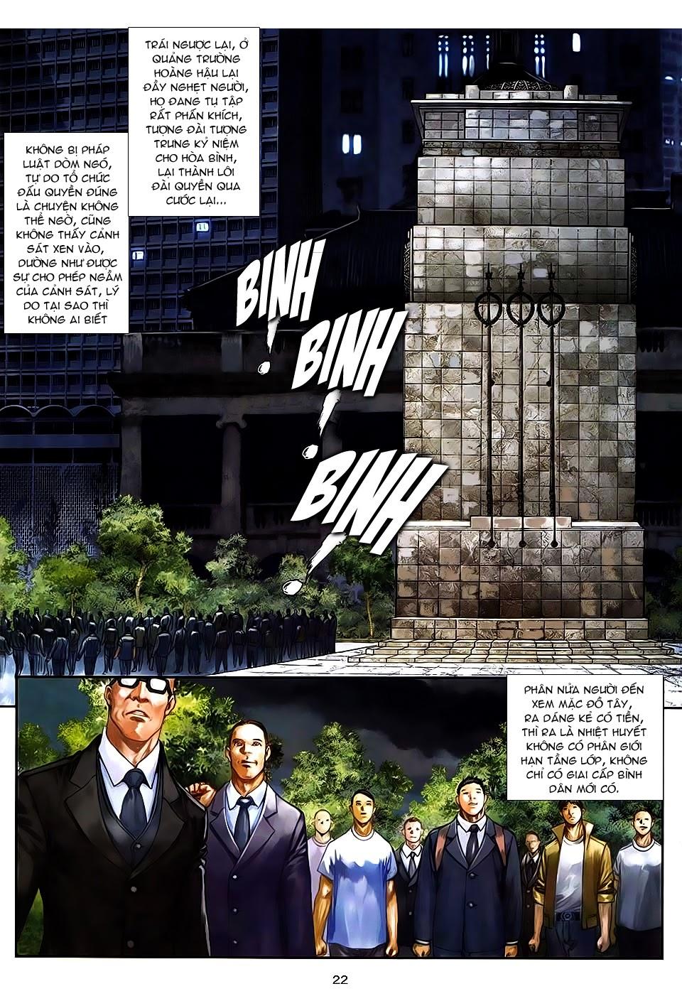 Quyền Đạo chapter 7 trang 21