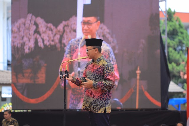 Ketua MPR RI Berikan Pesan Khusus Untuk Walikota dan Wakil Walikota Bogor