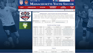 Tryout for the Mass Youth Soccer District Select Program District 3 team - June 3