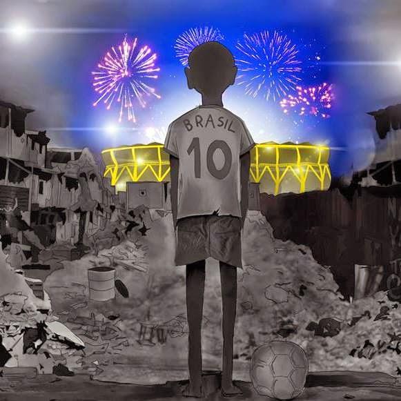 Reflexão Poesia Cpoa do Mundo Brasil WorldCup