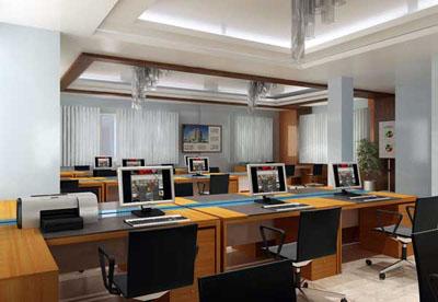 Thiết kế văn phòng mẫu
