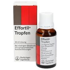 إيفورتيل Effortil نقط لتقوية الدورة الدموية