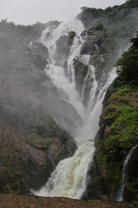 Dudhsagar Waterfalls Goa - Waterfalls In Goa