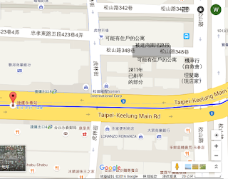 地理圖(Google 地圖提供)