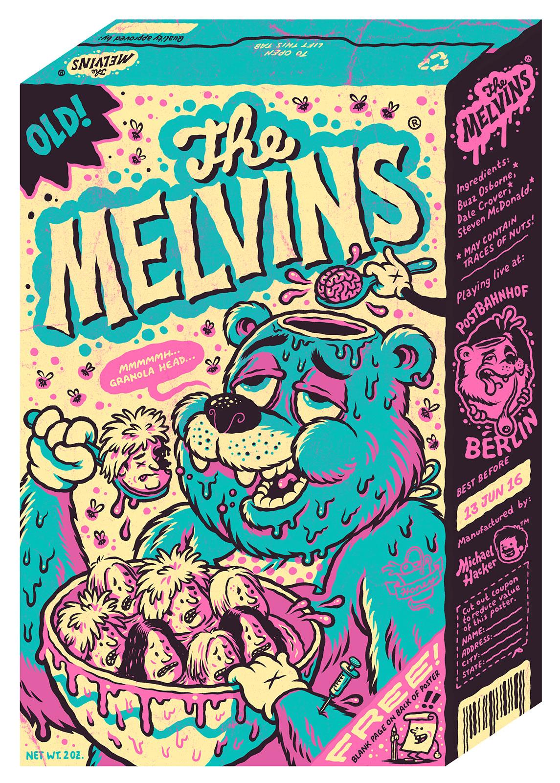 Inside The Rock Poster Frame Blog Michael Hacker Melvins