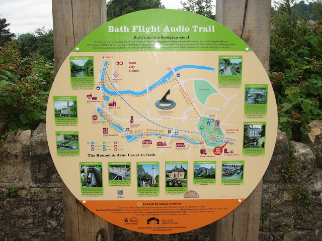 Bath Flight Audio Trail, canal